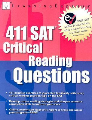 411 SAT Critical Reading Questions Learning Express LLC