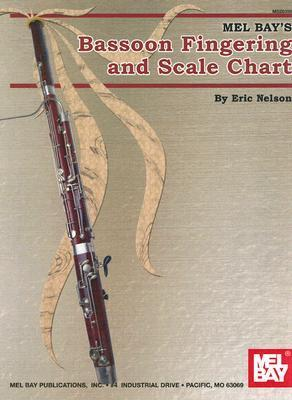 Mel Bays Bassoon Fingering and Scale Chart Eric Nelson