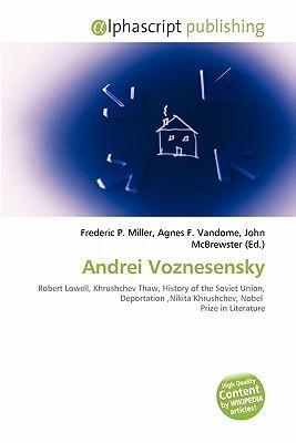 Andrei Voznesensky  by  Frederic P.  Miller