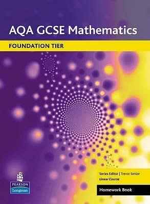 Aqa Gcse Maths: Linear Foundation Homework Book Trevor Senior