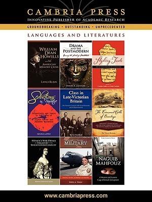 Cambria Press Languages and Literatures Catalog  by  Press Cambria Press