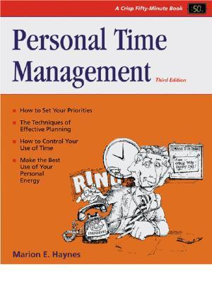 Personal Time Management  by  Marion E. Haynes