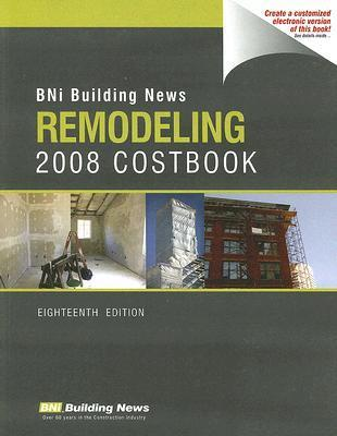 BNI Building News Remodeling Costbook William D. Mahoney
