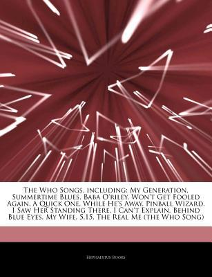 The Who Songs  by  Hephaestus Books