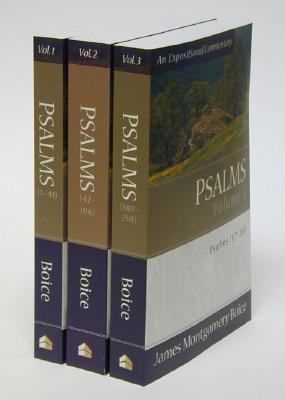 Psalms: Vol. 1, 2, 3  by  James Montgomery Boice