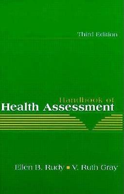 Handbook Health Assessment (3rd Edition)  by  Ellen B. Rudy