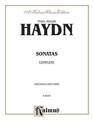 Violin Sonata No. 4 - Piano Score Franz Joseph Haydn
