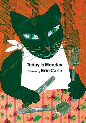 Today Is Monday board book Eric Carle