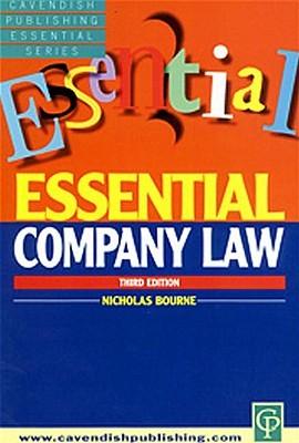 Essential Company Law Geoffrey H. Bourne