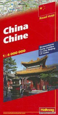 China Chine Road Map Hallwag K Ummerly