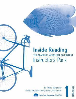 Inside Reading Instructors Pack: The Academic Word List in Context [With CDROM]  by  Arline Burgmeier