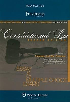 Friedmans Constitutional Law  by  Joel William Friedman