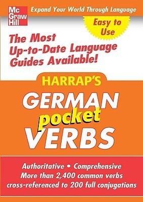 Harraps German Pocket Verbs McGraw-Hill Education