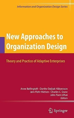 New Approaches to Organization Design: Theory and Practice of Adaptive Enterprises  by  Anne Bøllingtoft