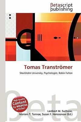 Tomas Tranströmer NOT A BOOK