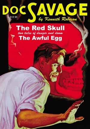 The Red Skull / The Awful Egg Kenneth Robeson