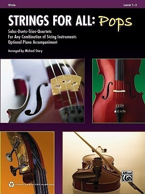 Strings for All -- Solo-Duet-Trio-Quartet with Optional Piano Accompaniment: Viola Alfred A. Knopf Publishing Company, Inc.