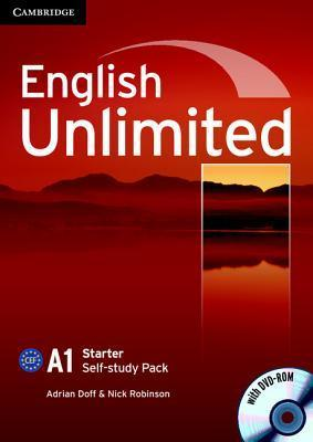 English Unlimited A1 Starter Self-Study Pack [With DVD ROM] Adrian Doff