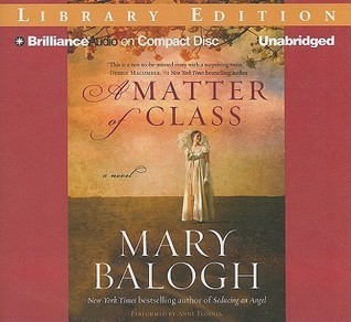 Matter of Class, A  by  Mary Balogh
