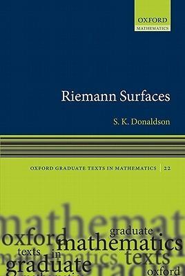 Riemann Surfaces Simon K. Donaldson