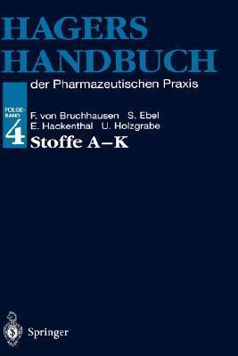 Stoffe A - K: Folgeband 4 Hermann Hager