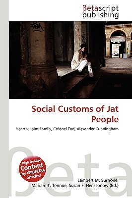 Social Customs of Jat People NOT A BOOK