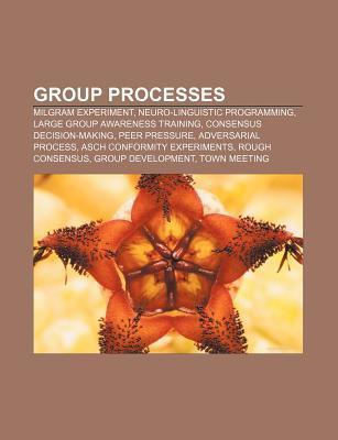 Group Processes: Milgram Experiment, Neuro-Linguistic Programming, Large Group Awareness Training, Consensus Decision-Making, Peer Pres Books LLC