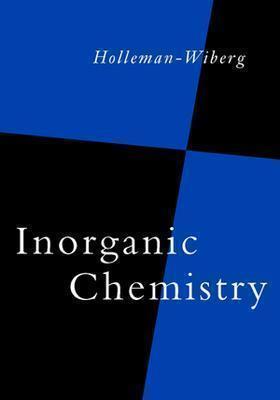 Inorganic Chemistry Arnold Frederik Holleman