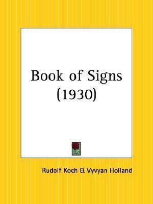 Book of Signs Rudolf Koch