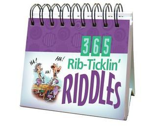 365 Rib Ticklin Riddles  by  Barbour Publishing