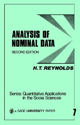 Analysis of Nominal Data  by  H.T. Reynolds