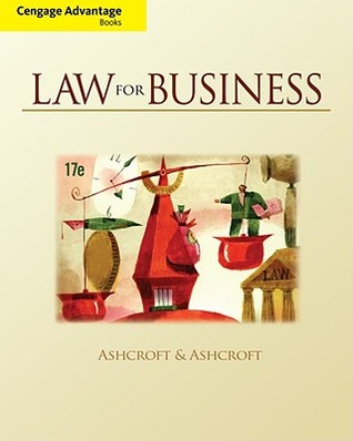 Law for Business John D. Ashcroft