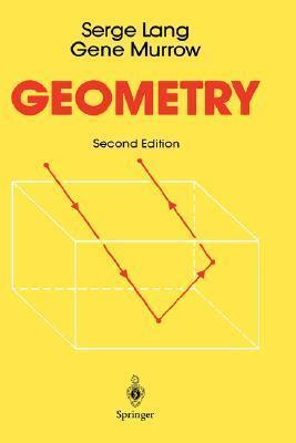 Geometry  by  Serge Lang