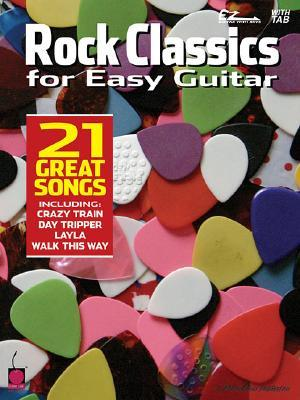 Rock Classics for Easy Guitar  by  Cherry Lane Music Co