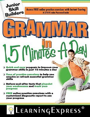 Grammar in 15 Minutes a Day [With Free Online Practice Exercises Access Code] Learning Express