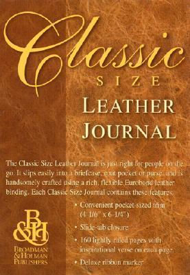 Classic Size Leather Journal Anonymous