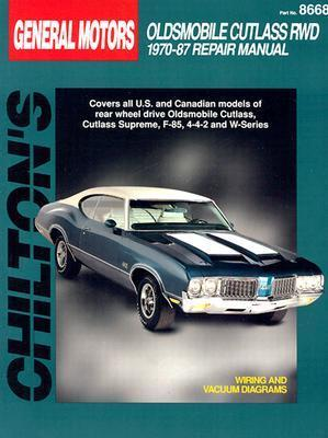 GM Cutlass Rwd 1970-87  by  Chilton Automotive Books
