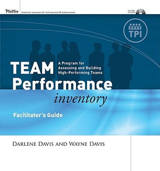 Team Performance Inventory: A Guide for Assessing and Building High-Performing Teams, Facilitators Guide Set  by  Wayne T. Davis