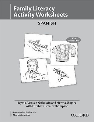 Family Literacy Activity Worksheets Spanish  by  Jayme Adelson-Goldstein