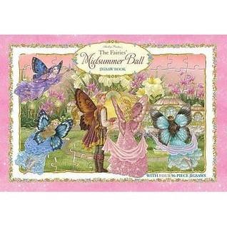 Shirley Barbers the Fairies Midsummer Ball Deluxe Jigaw Book Shirley Barber