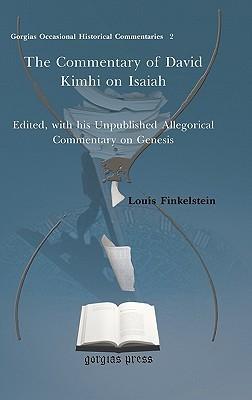 The Commentary of David Kimhi on Isaiah Louis Finkelstein