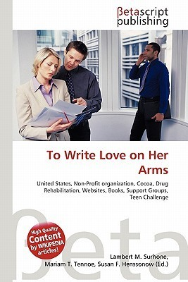 To Write Love on Her Arms NOT A BOOK