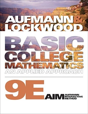 Begining And Intermediate Algebra  by  Richard N. Aufmann