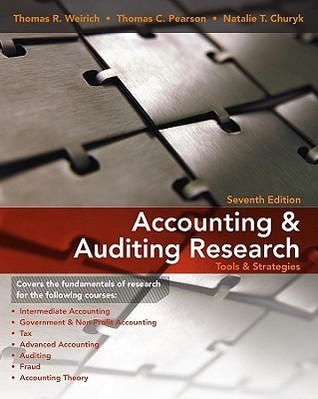 Accounting Research  by  Thomas R. Weirich