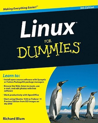 Linux For Dummies, 9th Edition  by  Richard K. Blum