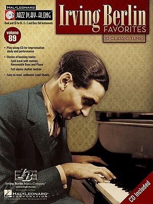 Irving Berlin Favorites: Jazz Play-Along Volume 89 Irving Berlin