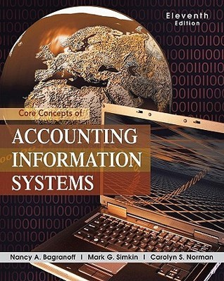 Core Concepts Of Accounting Information Systems Nancy A. Bagranoff