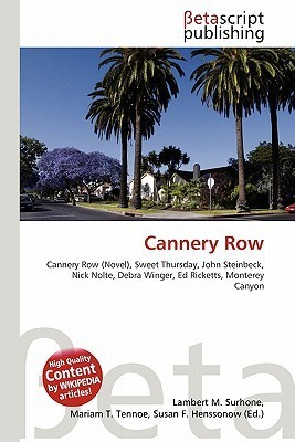 Cannery Row  by  NOT A BOOK