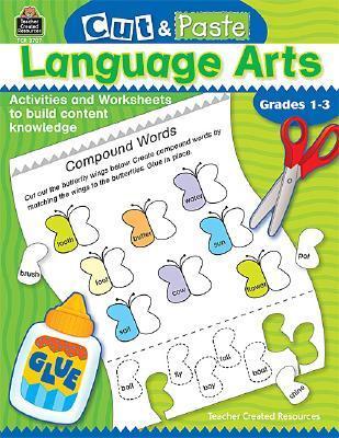 CUT & PASTE Language Arts/ Grades 1-3  by  Jodene Lynn Smith