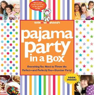 KIT:    Littlemissmatcheds Pajama Party in a Box [With BookWith Stickers and Spinwheel, Scrapbook Paper, Album, Stationery Set] NOT A BOOK